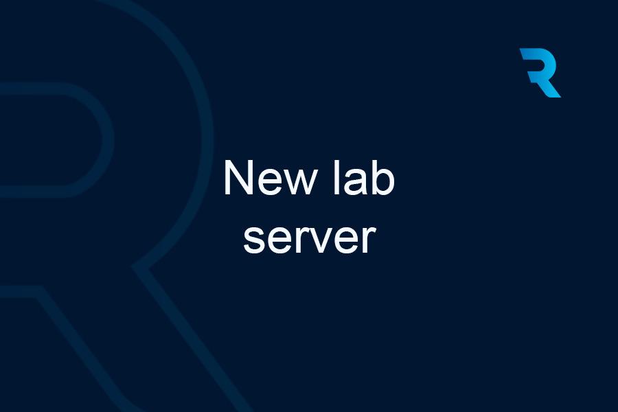 New lab server