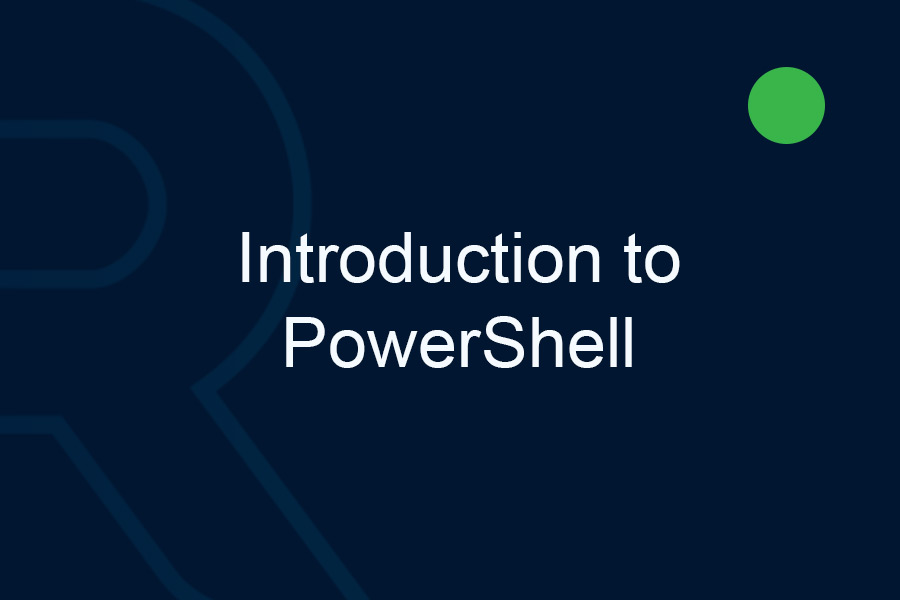 Introduction-to-Powershell