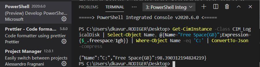 PowerShell VSCode