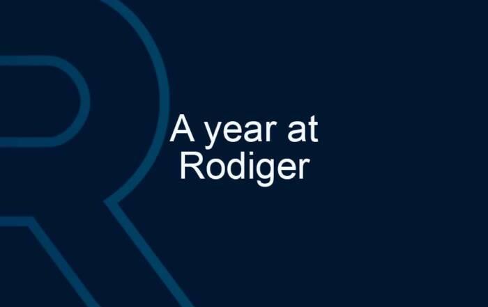 A year at Rodiger